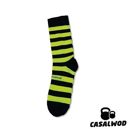 Meia Crossfit - LISTRA - Cano Curto (Fluorescente)