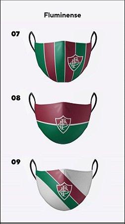 Kit com 3 máscaras premium  de alta proteção lávavel - TIME DE GUERREIROS