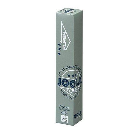 Bola de Plástico sem costura JOOLA Flash 40+ 3 estrelas - Caixa com 6 unidades