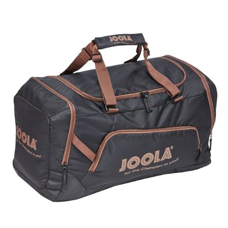 Mala Grande Compact Bag 17 - Preta com marrom