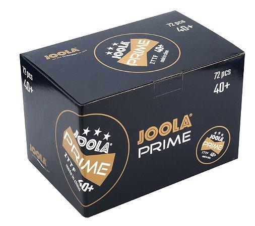 Bola de Plástico JOOLA Prime 40+ 3 estrelas - Caixa com 72 unidades
