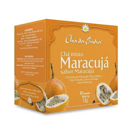 Chá Misto de Maracujá - Chá da Índia – 10 Sachês