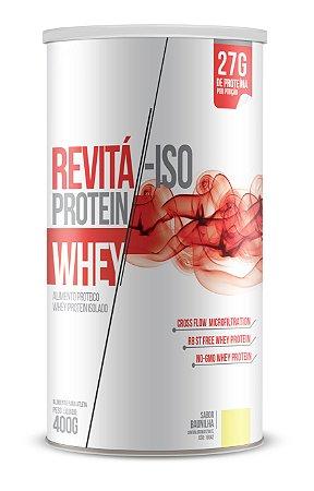 Whey Revita Iso Protein sabor Baunilha- CháMais - 400g