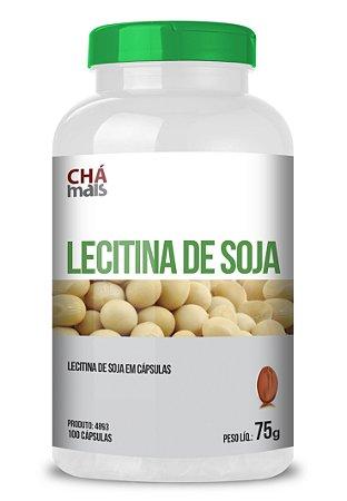 Lecitina de Soja em cápsulas - CháMais - 100 caps