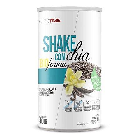 Shake com Chia BioForma, sabor Baunilha - ClinicMais - 400g