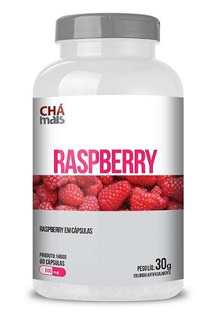 Raspberry  em cápsulas - CháMais - 60 caps