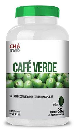 Café Verde com Vitaminas em cápsulas - CháMais - 60 caps