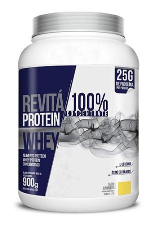 Whey Revita Protein Concentrate sabor Baunilha - CháMais - 900g