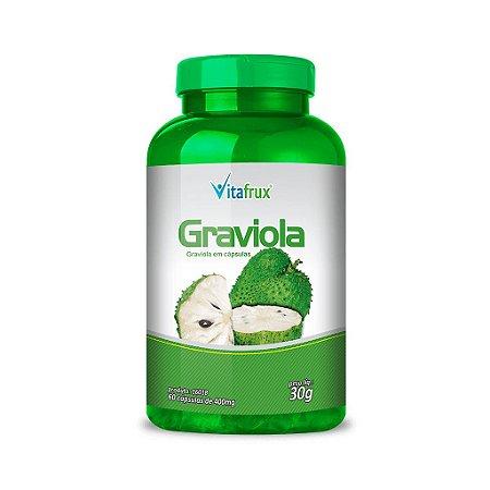 Graviola em cápsulas - Vitafrux - 60 caps