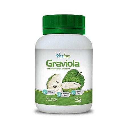 Graviola em cápsulas - Vitafrux - 30 caps