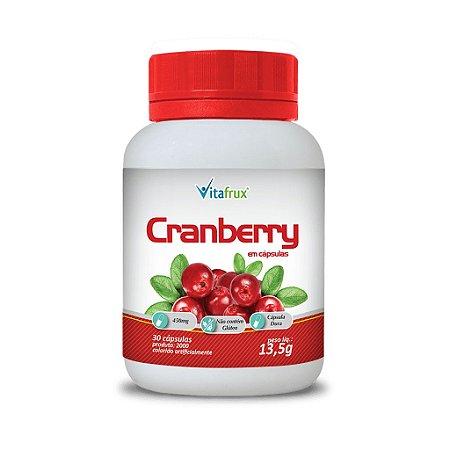 Cranberry em cápsulas - Vitafrux - 30 caps