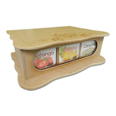 Caixa De Madeira - Vitafrux -  9 Sabores