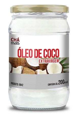 Óleo de Coco - Extravirgem - CháMais - 200mL