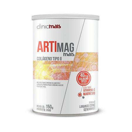 ArtiMag Mais Colágeno tipo II solúvel - ClinicMais - 150g