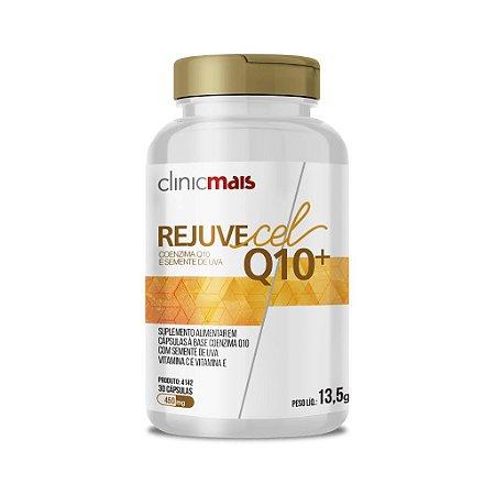 Rejuvecel Q10+ - Coenzima Q10 e Semente de Uva - 30 cápsulas - ClinicMais