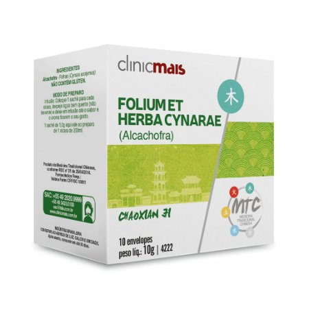 MTC Folium et Herba Cynarae - Alcachofra - Chaoxian Ji - ClinicMais