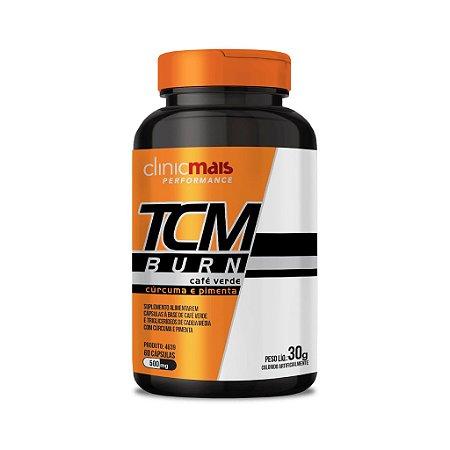 TCM Burn - Café verde e TCM com Cúrcuma e Pimenta em cápsulas - 60 cápsulas