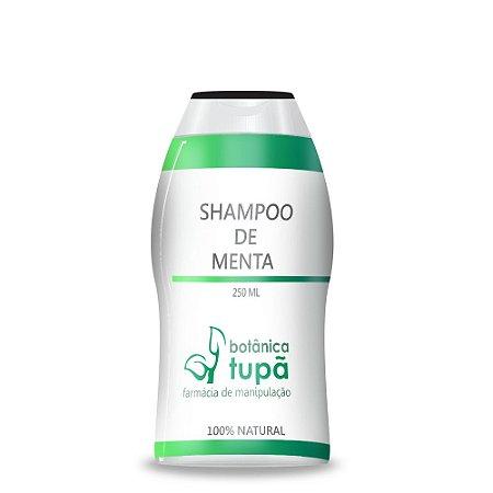 Shampoo de Menta - 250 ml -  Para cabelos normais a oleosos