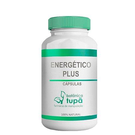 Energético Plus - Ação energética, melhora libido sexual 120 Cápsulas
