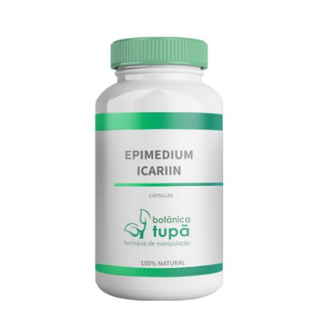 Epimedium Icariin - 500 mg - Potencializador da libido