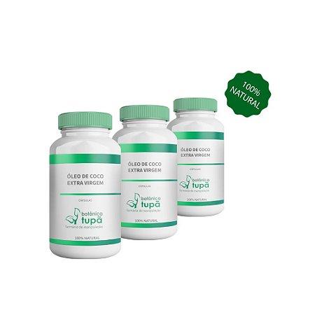Óleo de Coco Extra Virgem - Auxilia na redução de gordura abdominal