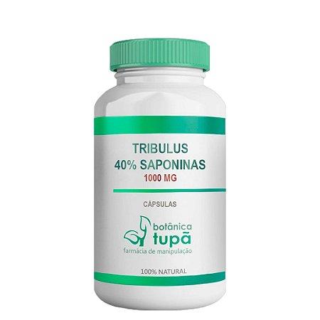 Tribulus 1000mg Com Saponinas 40% Aumento da massa muscular