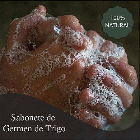 Sabonete de Germen de Trigo em barra - 80 Gramas - Hidrata a pele