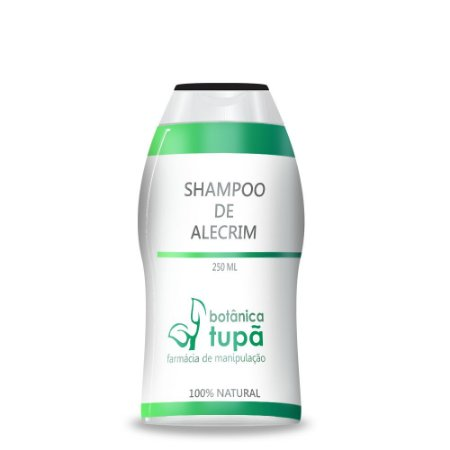 Shampoo de Alecrim - 250ml - Fortificante capilar