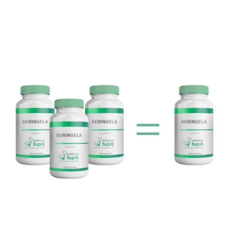 Berinjela - Controla o colesterol - Compre 3 e leve 4 frascos