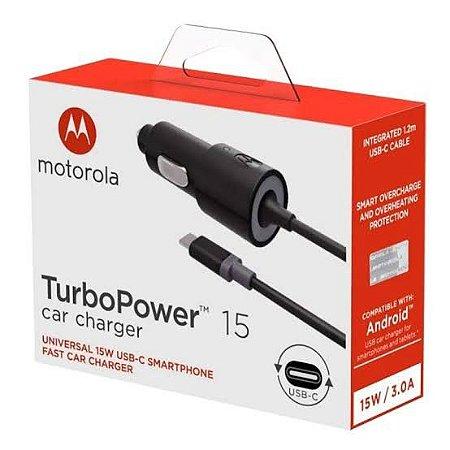 Carregador Veicular Motorola Turbo