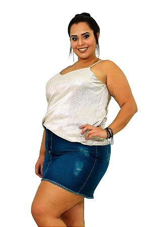 Saia Jeans Plus Size Upcycle