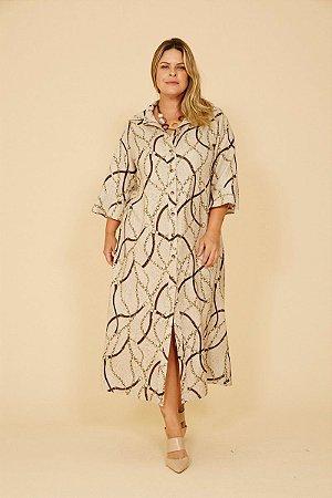 Vestido Plus Size Midi