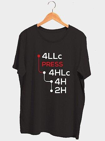 Camiseta Câmbio Reduzida Preta