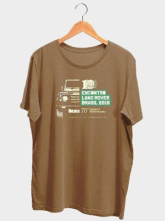 Camiseta Masculina Encontro Amigos Land Rover 2018 (PRODUTO OFICIAL)