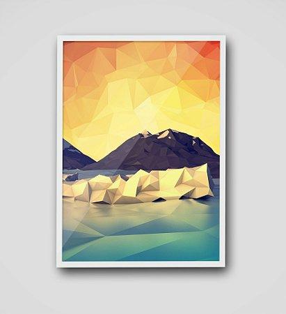 Quadro Iceberg Geomético
