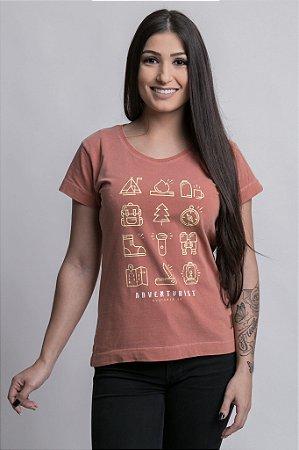 Camiseta Feminina Adventurist Ferrugem