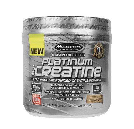PLATINUM 100% CREATINE (sem sabor) 80 doses