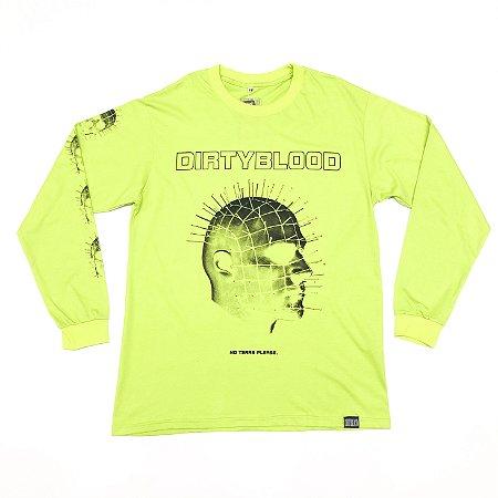 """Camiseta DirtyBlood """"No Tears Please"""" - Verde"""