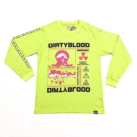"""Camiseta DirtyBlood """"Friends"""" - Verde"""