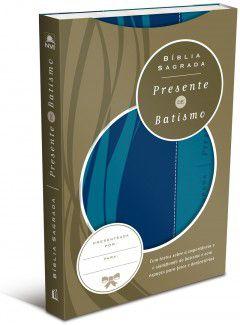 Bíblia Sagrada Presente de Batismo
