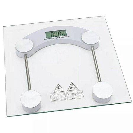 Balança Digital Vidro Temperado ate 180 KG
