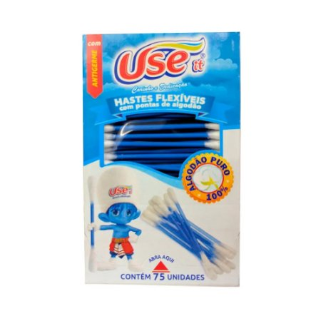 Hastes Flexiveis c/ 75un - Pacote com 10