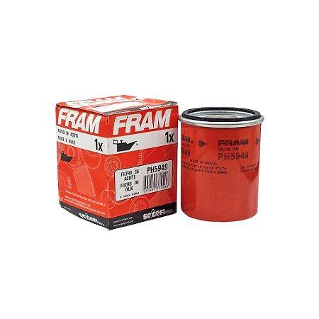 Filtro de Óleo| Fram | PH5949 - Unitário