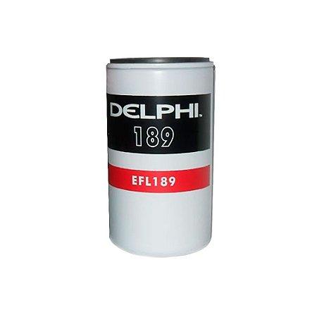 Filtro de Óleo| Delphi | EFL-189 - Unitário