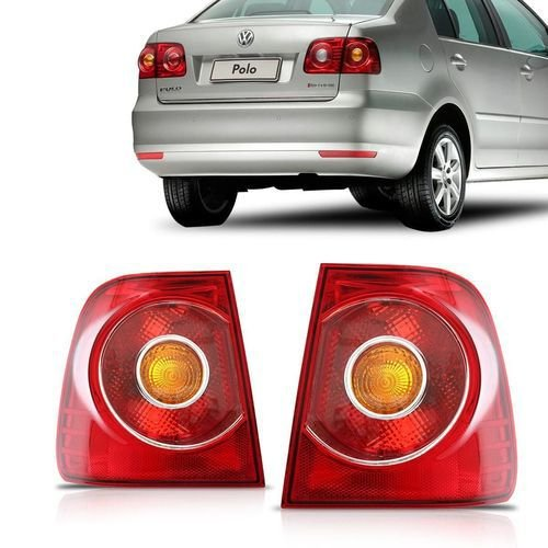 Lanterna Traseira Polo Sedan Lateral (2008/2011) - Original ARTEB