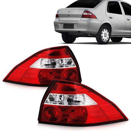 Lanterna Traseira Prisma Cristal (2006/2012) - Original ARTEB