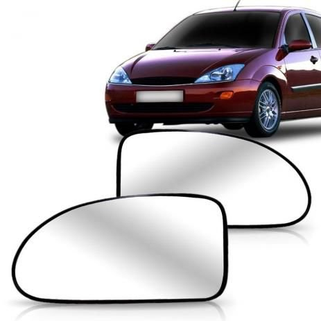 Lente Retrovisor Focus Hatch/Sedan com Base (2000/2008) - Original FICOSA