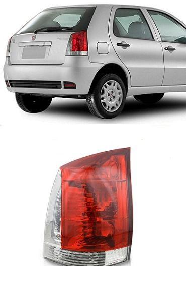 Lanterna Traseira Palio Vermelho/Branco (2004/2006) - Original MAGNETI MARELLI