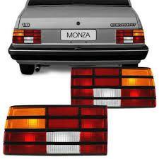 Lanterna Traseira Monza Tricolor com Friso Preto (1988/1990) - COFRAN