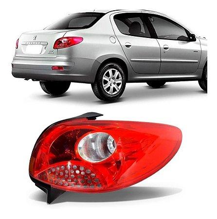Lanterna Traseira Peugeot 207 Sedan Ré Vermelha (2008/2011) - FITAM